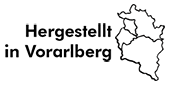 Hergestellt in Vorarlberg Logo