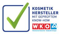 Kosmetikhersteller mit geprüftem Know-How Logo